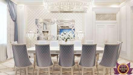   Dining room Design by Katrina Antonovich: modern Dining room by Luxury Antonovich Design