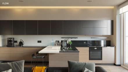 8195: Кухонные блоки в . Автор – FLOW project
