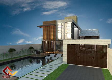 :  Prefabricated home by GhiorziTavares Arquitetura