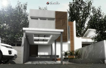 :  Rumah keluarga besar by christstevie architecture interior contractor