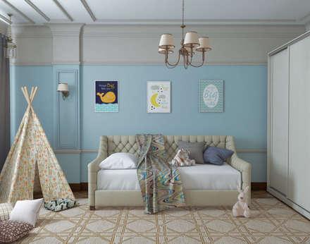 детская: комнаты для новорожденных в . Автор – Mantra_design
