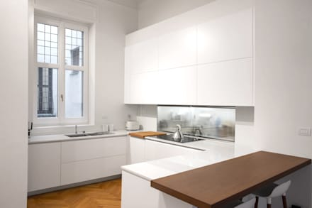 Built-in kitchens by Chantal Forzatti architetto