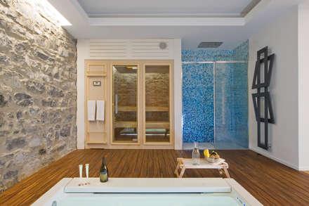 VL: Sauna in stile  di Chantal Forzatti architetto