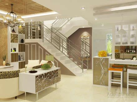 Living Room:  Ruang Keluarga by Adelia Irena
