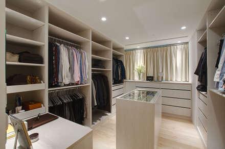 modern Dressing room by 哲嘉室內規劃設計有限公司