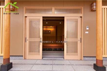 客製化設計-樂活山莊-日式健康綠建築:  木屋 by 詮鴻國際住宅股份有限公司