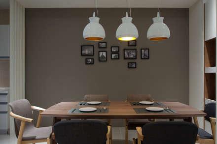 غرفة السفرة تنفيذ 哲嘉室內規劃設計有限公司