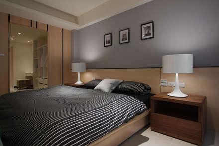scandinavian Bedroom by 哲嘉室內規劃設計有限公司