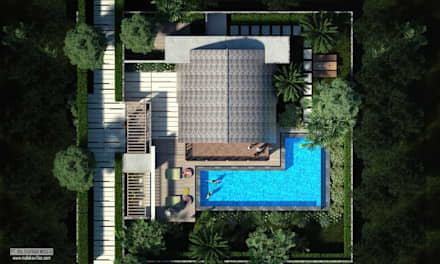 Top View:  Atap by Skye Architect