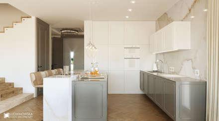 Nhà bếp by Ludwinowska Studio Architektury