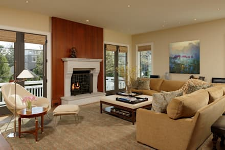 classic Living room by BOWA - Design Build Experts