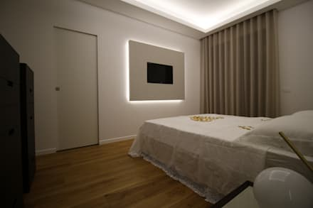 Appartamento a Termini Imerese PA: Camera da letto in stile in stile Moderno di Giuseppe Rappa & Angelo M. Castiglione
