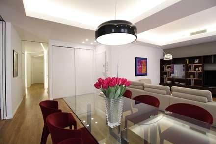 Appartamento a Termini Imerese PA: Sala da pranzo in stile in stile Moderno di Giuseppe Rappa & Angelo M. Castiglione