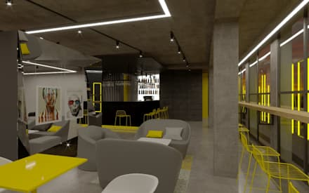 FILTER BAR:  Bars & clubs by EVGENY BELYAEV DESIGN