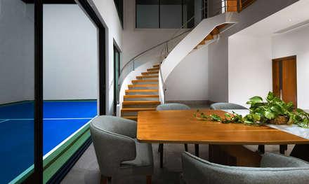 Casa Vereda: Comedores de estilo minimalista por Enrique Serrano     Fotógrafo de Arquitectura e Interiores