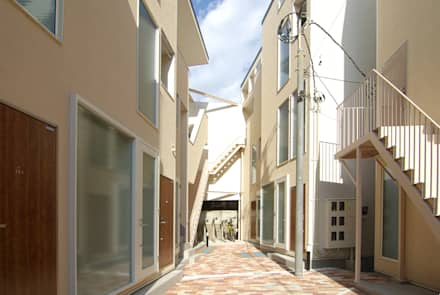 บ้านระเบียง by 有限会社東風意匠計画