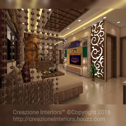 : modern Living room by Creazione Interiors