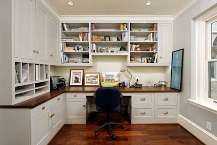 classic Study/office by BOWA - Design Build Experts