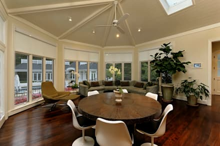 Purchase Consultation and Whole House Renovation in Potomac, Maryland: classic Dining room by BOWA - Design Build Experts
