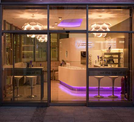 moderne gastronomie architektur design homify. Black Bedroom Furniture Sets. Home Design Ideas