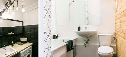 Apartament inny niż wszystkie: styl , w kategorii Łazienka zaprojektowany przez IDeALS | interior design and living store
