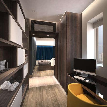 Cadogan | Kennedy Town | Hong Kong: modern Bedroom by Nelson W Design