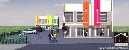 Văn phòng & cửa hàng by Rumah Desain 2000