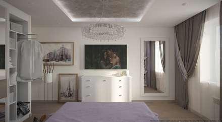 Нежность: Спальни в . Автор – ХаТа - design