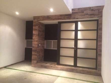 CASAS FR212: Garajes de estilo minimalista por arqui I zero  arquitectos