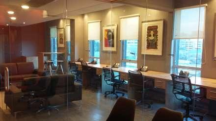 OFICINAS ABOGADO EDN: Estudios y biblioteca de estilo  por AOG SPA