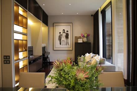 BS RESIDENCE:  Ruang Kerja by ALIGN architecture interior & design