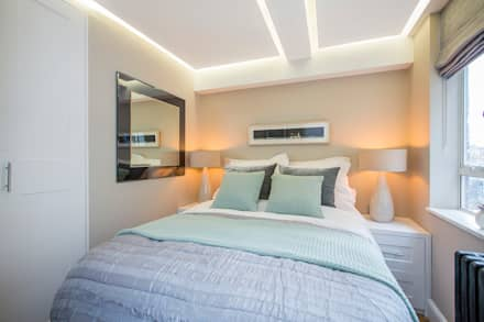 Flat refurbishment and new kitchen: classic Bedroom by Maxmar Construction LTD