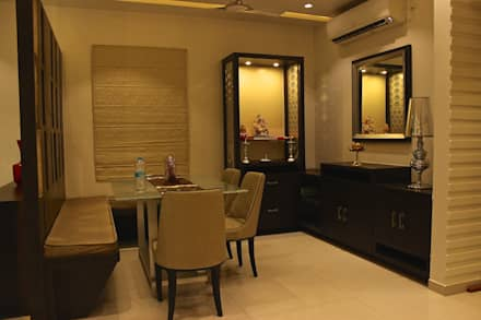 Mystic Moods,Pune: modern Dining room by H interior Design