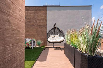 Viva Design - projektowanie wnętrz의  전원 주택