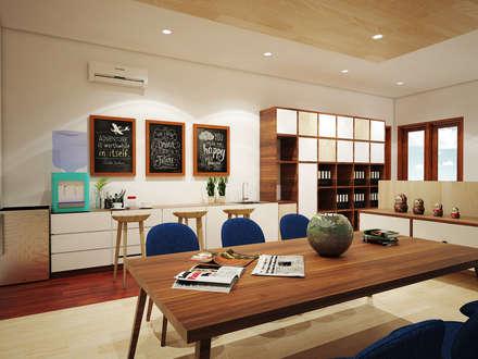 Jasko Office Renovation:  Kantor & toko by SEKALA Studio