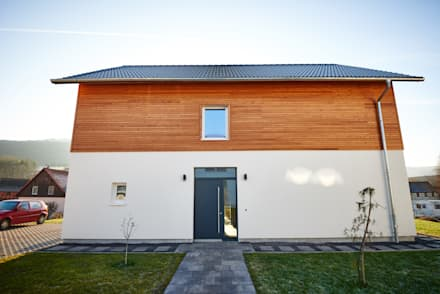 Passive house by architekturbuero dunker