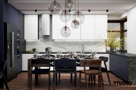ORYGINALNA KUCHNIA: styl , w kategorii Kuchnia zaprojektowany przez MIKOŁAJSKAstudio