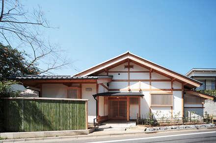 木造伝統構法の日本家屋「世田谷の家」: 木造伝統構法 惺々舎が手掛けた家です。