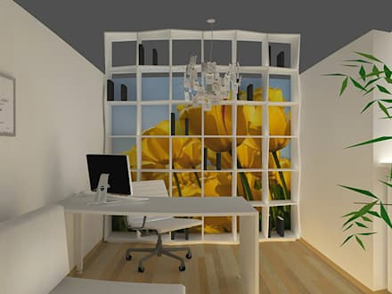 tropical Study/office by architecturbandesign