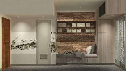 Show Unit - Type A (18 m2) - View 2:  Kamar Tidur by studio tektonik