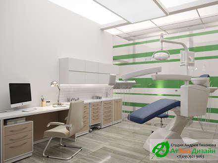 Стоматологическая клиника: Кабинеты врачей в . Автор – АТЭКО ДИЗАЙН