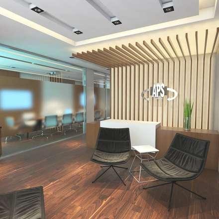 REMODELACION MUTUAL APS / FORMOSA ARGENTINA : Estudios y oficinas de estilo moderno por FILIPPIS/DIP - DISEÑO Y CONSTRUCCION