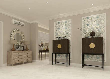 Corridor & hallway by Kottagaris interior design consultant