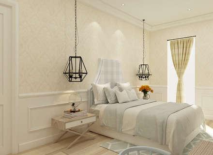 ห้องนอน by Kottagaris interior design consultant