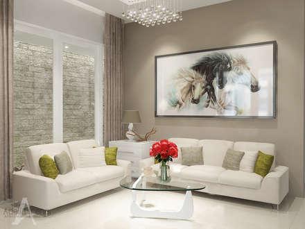 Ruang Tamu:  Ruang Keluarga by Adelia Irena