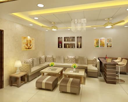 designs of drawing room furniture. 3 BEDROOM + STUDY: Classic Living Room By Srijan Homes Designs Of Drawing Furniture