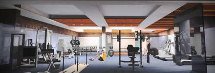 modern Gym by M/s GENESIS