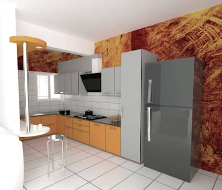 Interior - Basic: modern Kitchen by M/s GENESIS