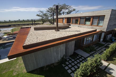 Jardins de pedras  por Belas Artes Estruturas Avançadas