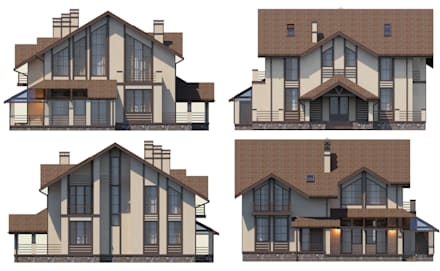 mediterranean Houses by Vesco Construction